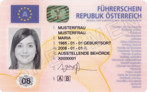 German ID card