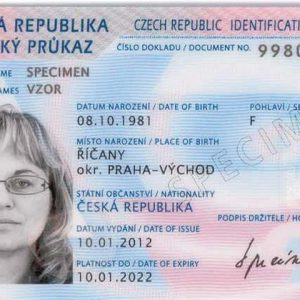 Czechia ID Card