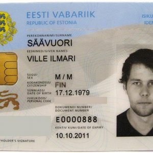Estonia ID Card