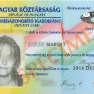 Hungary ID Card